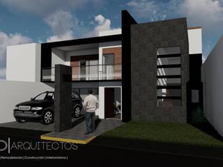 Fachada Principal: Casas de estilo  por Studio Arch'D Arquitectos