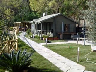 Mediterranean style garden by ONLYWOOD Mediterranean