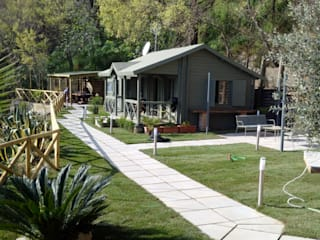 ONLYWOOD Jardines de estilo mediterráneo
