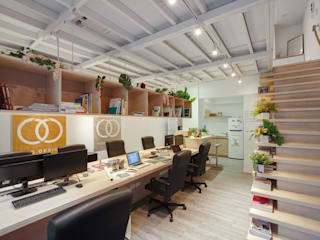 Offices & stores by 有偶設計 YOO Design