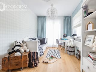 Scandinavian style nursery/kids room by Decoroom Scandinavian