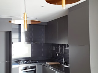 Cocinas de estilo  por 마당디자인 / MADANGDESIGN, Moderno