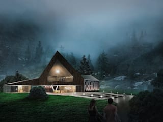 3D Architectural Visualization Rise hotel Germany 3D  :  Houses by CGstandard