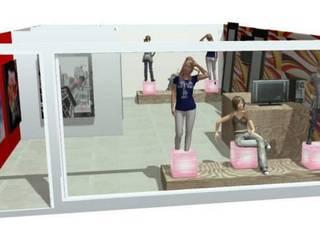 VITRINISMO Y ARTE COMERCIAL EN 3D DISEÑO Y DECORACIÓN DE ESPACIOS INTERIORES