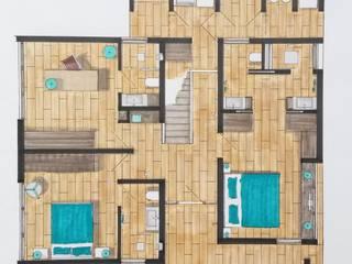 Ontwerp appartement Curacao van Designed by Elroy