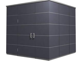 Garage/Rimessa in stile  di Garten-Q GmbH, Moderno