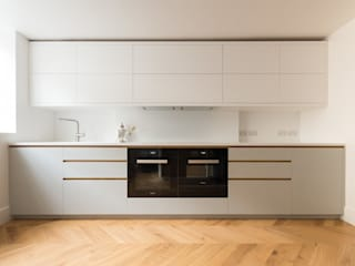 GRAHAM TERRACE KITCHEN:  Kitchen by Powell Picano