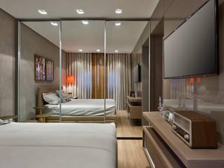 Camera da letto moderna di CLS ARQUITETURA Moderno