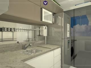 Interiores Vitali - 315: Cozinhas  por Kestie Arquitetura