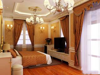 Bedroom by CÔNG TY CP XÂY DỰNG VÀ KIẾN TRÚC ĐẤT VIỆT, Classic