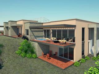 VIVIENDA HORIZONTES : Casas de estilo  por G2 ESTUDIO,