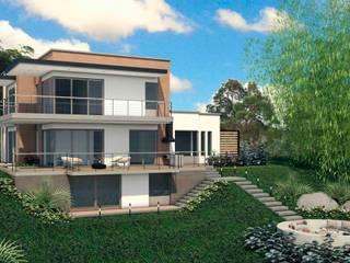 VIVIENDA QUIRAMA: Casas de estilo  por G2 ESTUDIO,