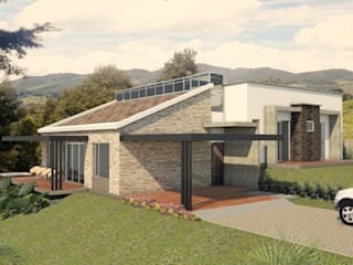 VIVIENDA SEBASTIANA: Casas de estilo  por G2 ESTUDIO,