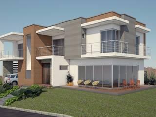 VIVIENDA LINDA GRANJA Casas modernas de G2 ESTUDIO Moderno