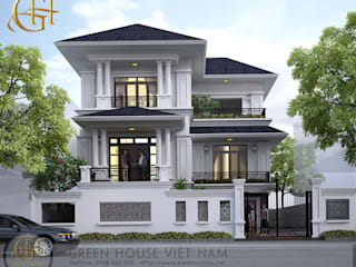 Thiết kế kiến trúc, thiết kế nội thất:   by Công ty CP Kiến trúc & Xây dựng GreenHouse Việt Nam