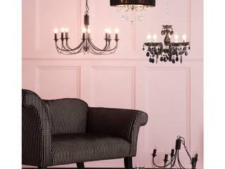 Rose Quartz Interiors Litecraft Living roomLighting