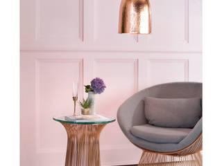 Rose Quartz Interiors Litecraft Living roomLighting Perunggu