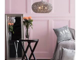 Rose Quartz Interiors Litecraft Living roomLighting Metal Black