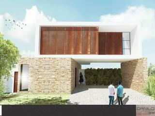 Casa República: Casas  por Danilo Segura Arquitetura,Minimalista