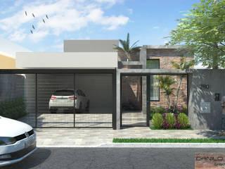 Residência EB: Casas  por Danilo Segura Arquitetura,Moderno