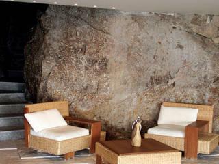 Pavimento Bracara: Salas de estar  por Fabistone,Mediterrânico
