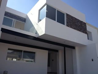 Barranca del Refugio dos Casas modernas de ALVARO CARRILLO arquitecto Moderno