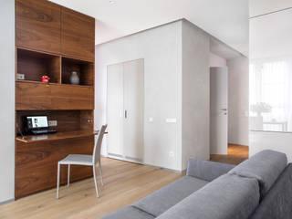 Квартира на ул. Катерников: Рабочие кабинеты в . Автор – background архитектурная студия