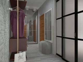 ЖК Весна Modern Corridor, Hallway and Staircase by Anastasia Yakovleva design studio Modern