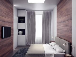 ЖК Весна Modern Bedroom by Anastasia Yakovleva design studio Modern