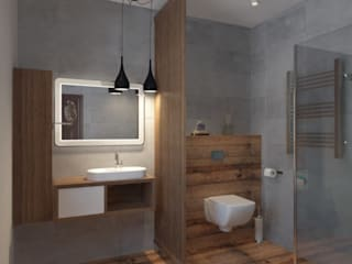 Дом Летчик Испытатель Modern Bathroom by Anastasia Yakovleva design studio Modern