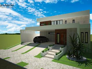 Residência 03 - dia: Casas  por ProjetArchi