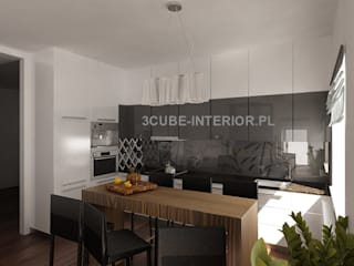 Kitchen by 3cube Interior Designer