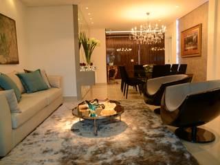 ห้องนั่งเล่น โดย Guilherme Elias Arquiteto, โมเดิร์น