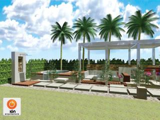: Piscinas de estilo  por ION arquitectura SAS