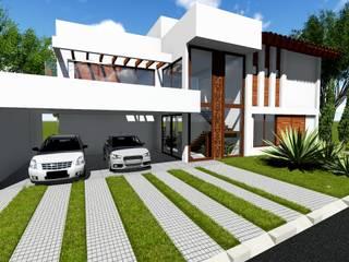 modern Houses by Guilherme Elias Arquiteto