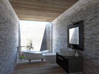 Bathroom by NEF Arq.