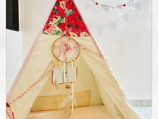 Teepee para habitación niña:  de estilo  por CONSTRUCCIONES 2AM S.A.S.