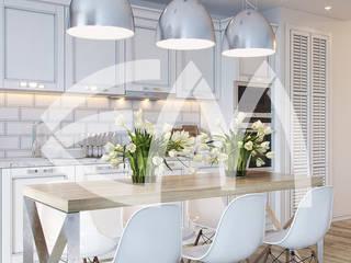 ЖК Манхеттен: Столовые комнаты в . Автор – Мастерская дизайна Екатерины Меркель