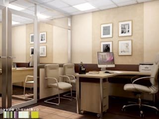 Office buildings by Мастерская интерьера Юлии Шевелевой, Minimalist
