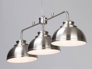 Brooklyn Pendants from Litecraft Litecraft KitchenLighting Metal Metallic/Silver