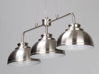 Brooklyn Pendants from Litecraft Litecraft Living roomLighting Metal Metallic/Silver