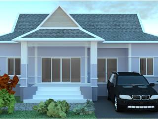 บ้าน 1ชั้น โดย mayartstyle ชนบทฝรั่ง