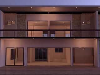บ้าน2ชั้น โดย mayartstyle โมเดิร์น