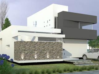 Casas de estilo  por ARKIZA