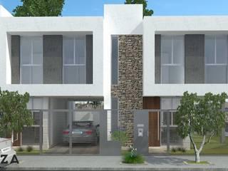 Complejo FR - Fernandez Oro - Río Negro - Argentina Casas modernas: Ideas, imágenes y decoración de ARKIZA Moderno