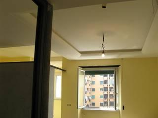 Ristrutturazione interni Roma StudioExNovo Sala da pranzo moderna