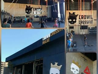Locaux commerciaux & Magasins de style  par Studio Uno Arquitetura LTDA,