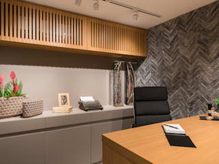 Mostra Studio Conceitual 2017: Espaços comerciais  por IG Arquitetura e Interiores,Moderno