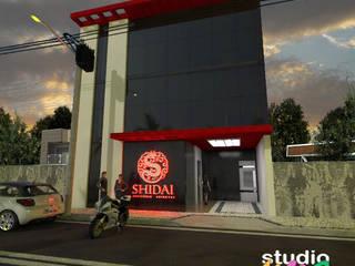 Commercial Spaces โดย Studio Uno Arquitetura LTDA,