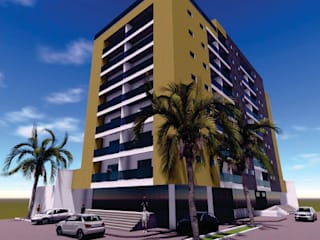 Hôtels de style  par Studio Uno Arquitetura LTDA,